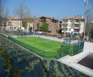pista multideportiva urbana