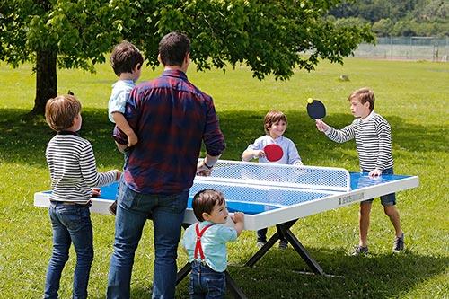 Mesas de ping-pong de exterior antivandálicas