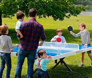 mesa ping-pong exterior antivandalica