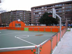 Espacios deportivos en la ciudad