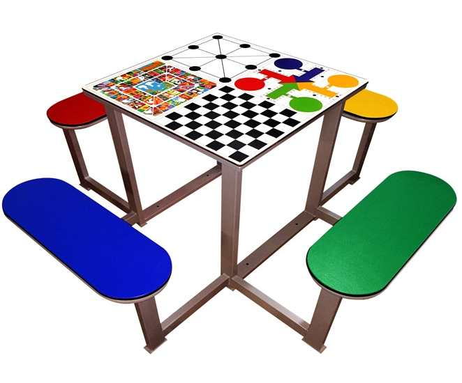 mesa multijuegos para parques