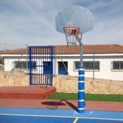Canasta de basket antivandálica