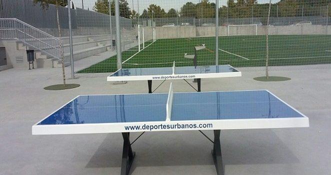 Mesas de ping pong exterior antivandálicas