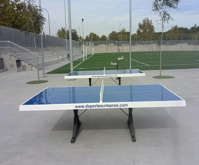 Mesas de ping pong exterior antivand licas para exterior for Mesa ping pong exterior
