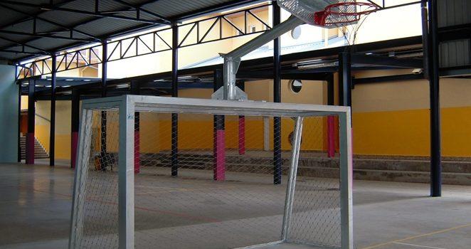 Equipamiento deportivo para colegios