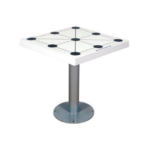 mesa 3 en raya para exterior