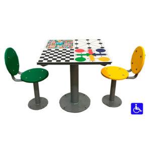 juegos de mesa de exterior con oca