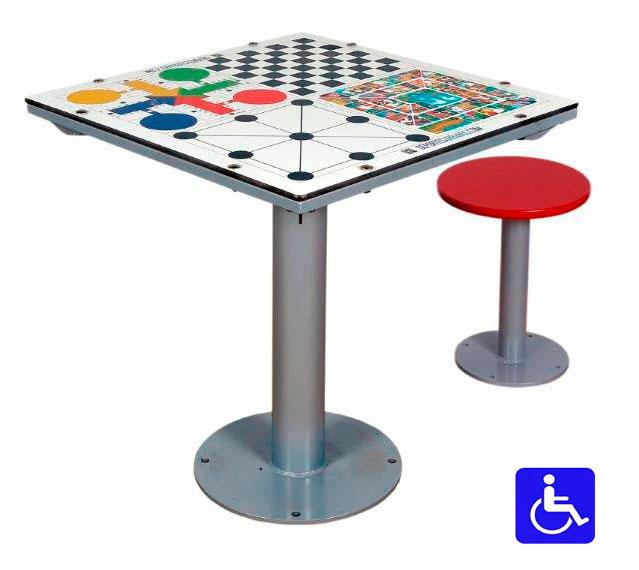Juegos de mesa para la calle con tablero antivand lico for La resistencia juego de mesa