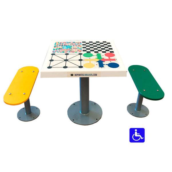 juegos de mesa para parques infantiles