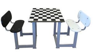 mesa de ajedrez para personas mayores