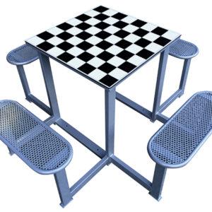 mesa de ajedrez para exterior
