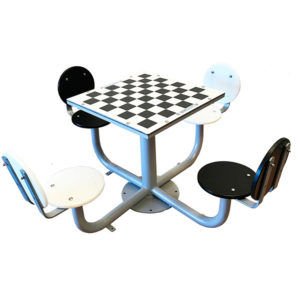 Mesas de ajedrez para plazas