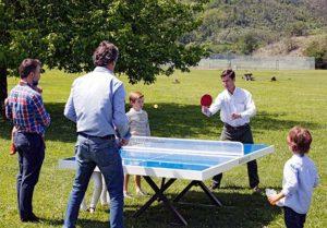Mesas de ping pong de exterior
