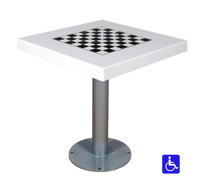Tablero de ajedrez para exterior antivand lico deportes - Tablero para exterior ...