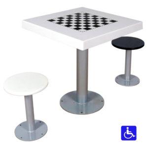 Tablero de ajedrez para parques