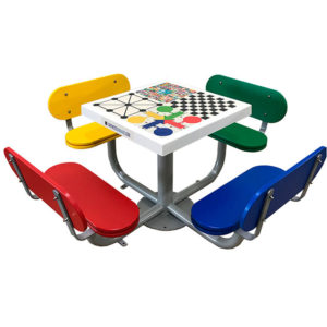 mesa juegos de exterior