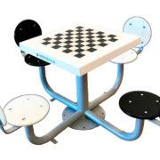 Jugar al ajedrez en la calle