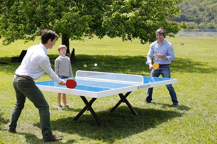 Mesas de ping pong de exterior deportes urbanos for Mesa de ping pong exterior