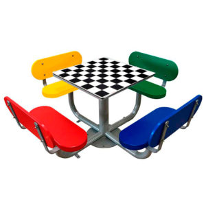 Mesas ajedrez exterior