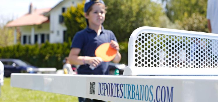 Mesas de ping pong antivandálicas para exterior