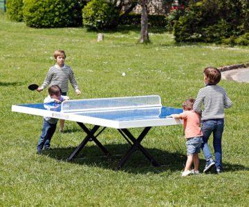 mesas de ping pong antivandálicas para colegios