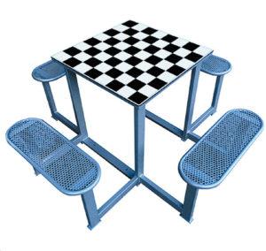 mesas de ajedrez en parques