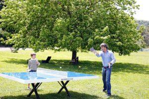 Mesas de ping pong fijas de exterior