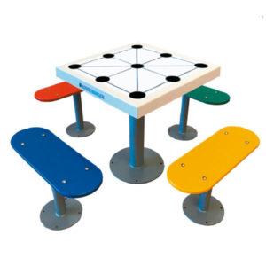 Distribuidores de mesas de juegos de exterior antivandálicas