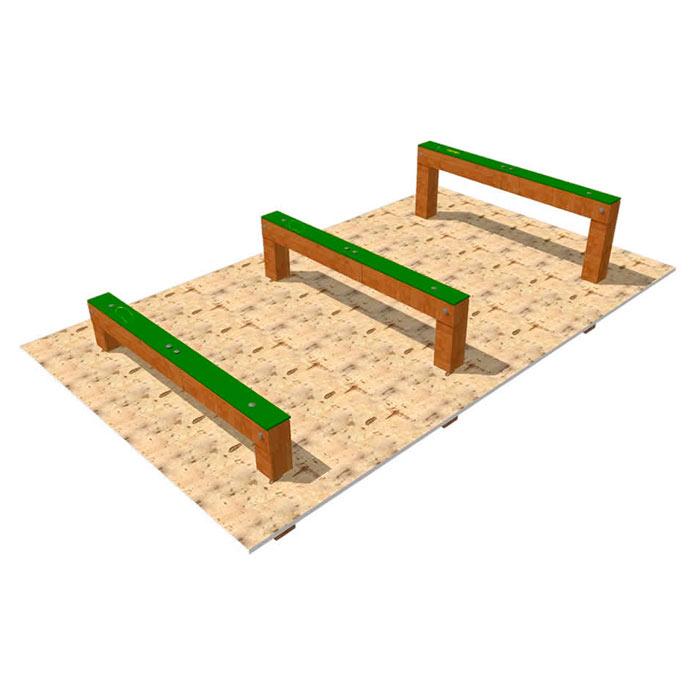 obstáculos para parque canino de agility