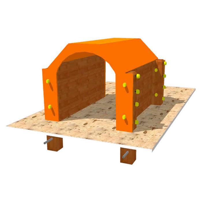 Túnel para parque canino de agility