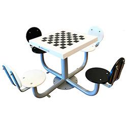 mesas de ajedrez de exterior antivandálicas para niños