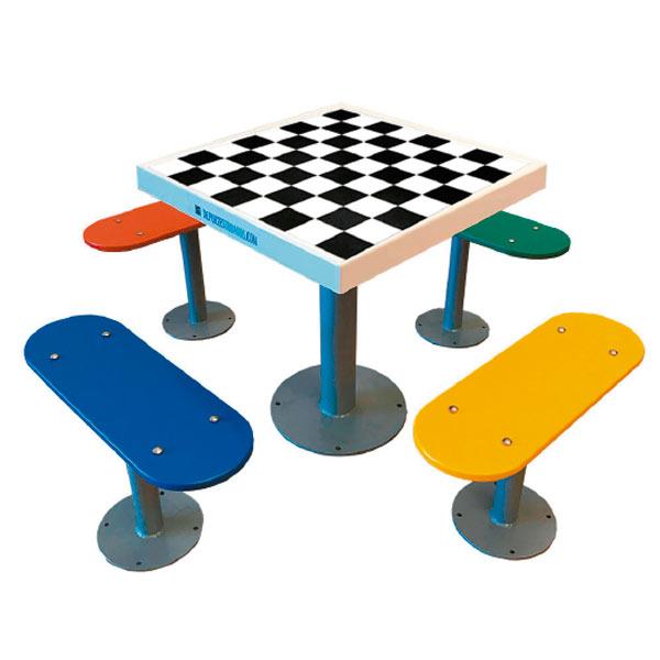 Distribuidores de mesas de ajedrez de exterior antivandálicas
