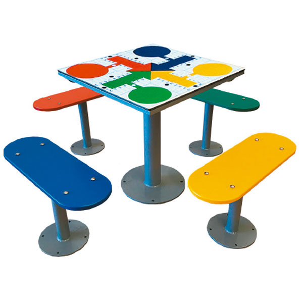 Fabricantes de mesas de parchís de exterior antivandálicas