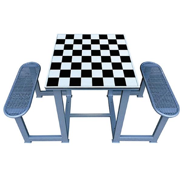 mesas de ajedrez en los parques