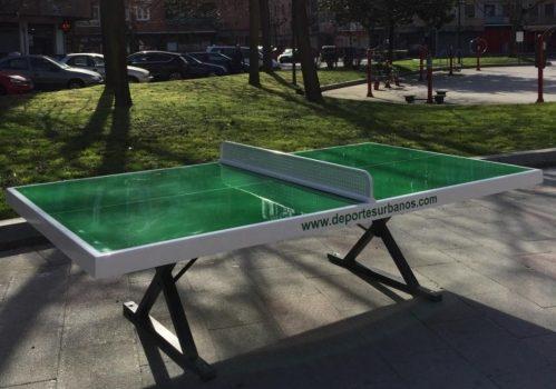 Mesas de ping pong antivandálicas forte