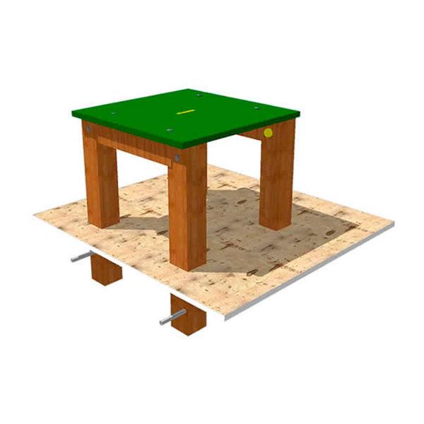Mesa para parque canino de agility