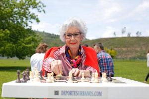 características de las mesas de ajedrez en los parques
