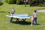 Mesas de ping pong antivandálicas para campings