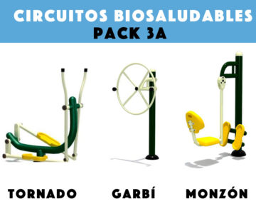 Circuitos Biosaludables: Pack 3A