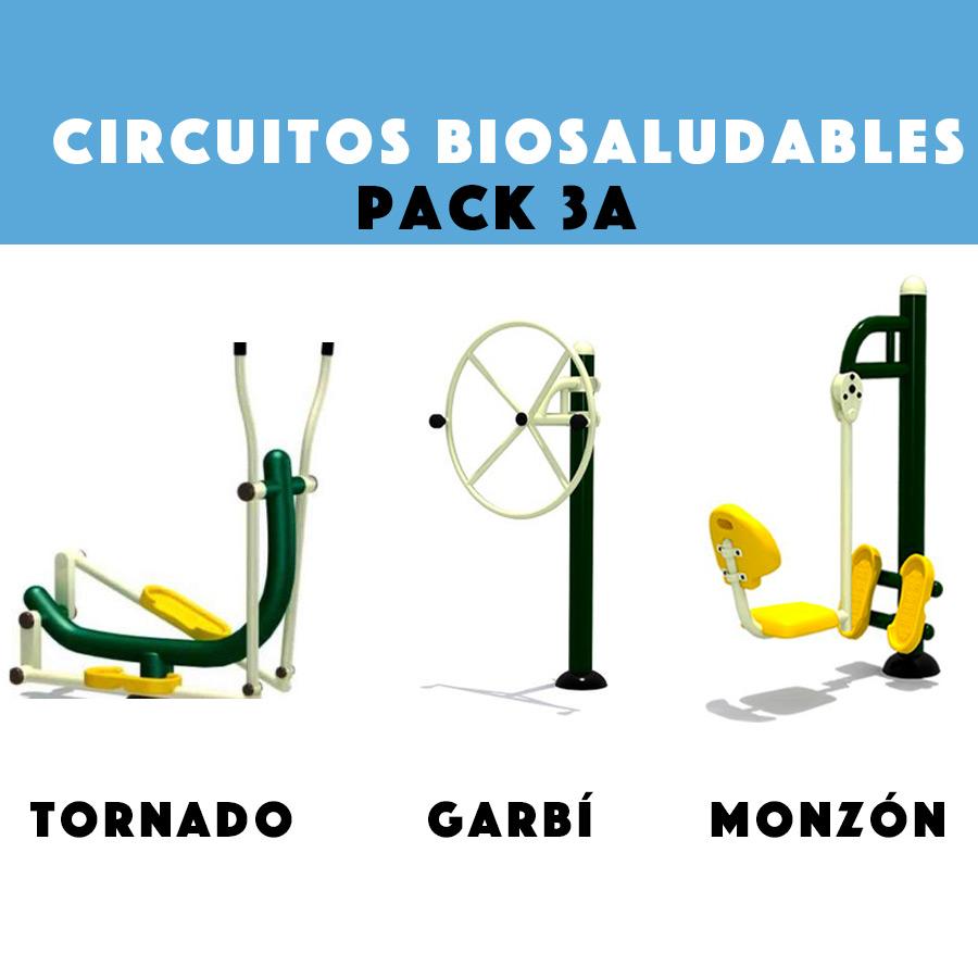 Circuitos Biosaludables: Pack Promocional 3A
