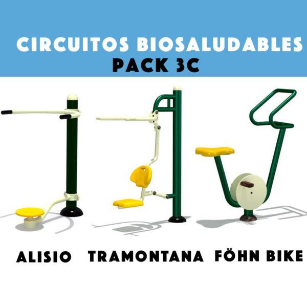 Circuitos Biosaludables: Pack Promocional 3C