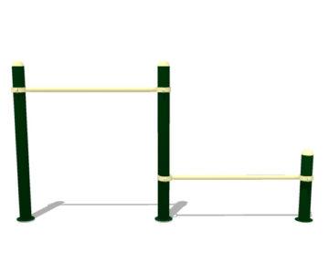 Equipamiento Calistenia para parques: Sentadillas