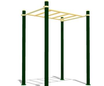 Equipamiento de Street Workout y Calistenia para parques: Escalera