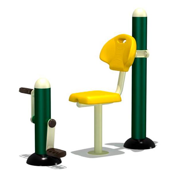 Máquinas para parques Biosaludables: Föhn