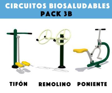 Venta de Circuitos Biosaludables: Pack 3B
