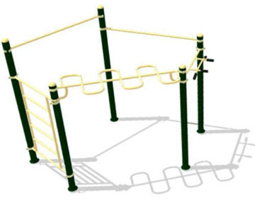 Aparatos de Calistenia y Street Workout en parques y plazas