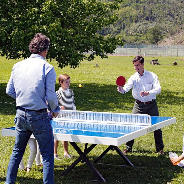 Mesa de ping pong exterior