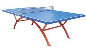 mesas de ping pong de exterior e interior