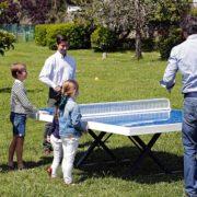 mesas de ping pong para la calle