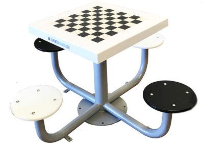 Mesa de ajedrez para parques y plazas